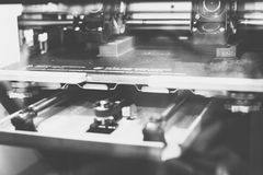 3D printer technology Stock Photo