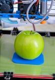 3d printer van het apparaat tijdens processe Royalty-vrije Stock Foto
