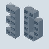 3D Printer vectorpictogram royalty-vrije illustratie