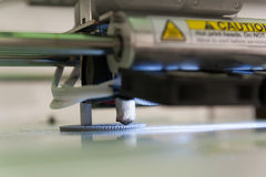 3D printer working Royalty Free Stock Photo