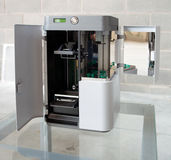 3D Printer (SLA and DLP) Royalty Free Stock Photography