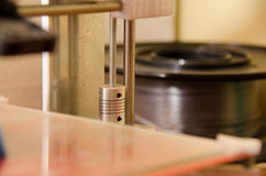3D printer y shaft Royalty Free Stock Images