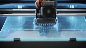 3d printerdrukken detailleren innovatief deel stock videobeelden