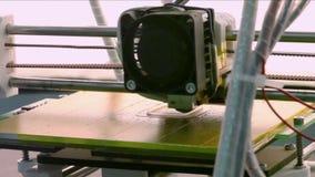 3D Printing block stock footage