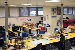 3D printing - den italienska vetenskapliga FabLaben Arkivfoto