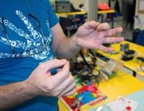 3D Printing - The italian scientific FabLab royalty free stock photo