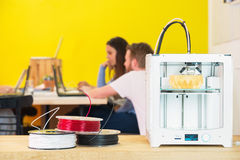 3D Printing Machine In Studio Stock Images
