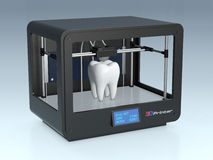 3d printing in medicine Stock Photography
