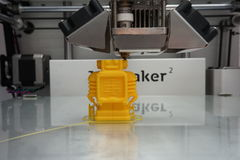 3D Printing Royalty Free Stock Photo
