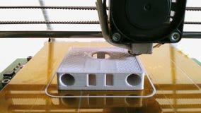 3D Printing Prototype stock video