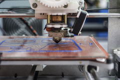 3D Printing Royalty Free Stock Photography