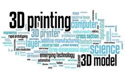 3D printing royalty free illustration