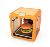 3D printing technology for food industry Stock Images