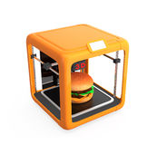 3D printing technology for food industry Stock Image