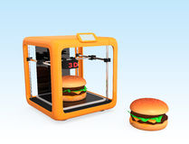 3D printing technology for food industry Stock Photos
