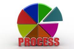 3d process illustration Royalty Free Stock Photo