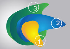 3d projektów elementy ilustracja wektor