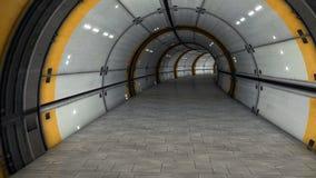 Futurystyczny korytarz Obraz Royalty Free