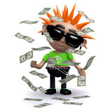 3d Punk jackpot Royalty Free Stock Photo