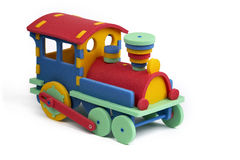 3D pussel - lokomotiv Royaltyfri Bild