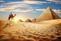 3 d pustyni ilustracji słońca Zdjęcie Royalty Free