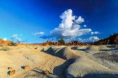 3 d pustyni ilustracji słońca Zdjęcie Stock