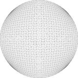3d puzzle ball in color 20 Stock Images