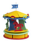 3D puzzle - circo Immagini Stock
