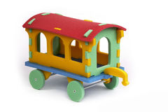 3D puzzle - vagone Immagini Stock Libere da Diritti