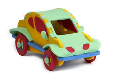 3D puzzle - voiture Photos stock