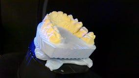 3D que faz a varredura de um modelo do close-up humano dos dentes filme