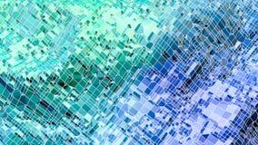 3d que rende o fundo geométrico abstrato com cores modernas do inclinação no baixo estilo poli superfície 3d com azul verde imagens de stock royalty free