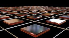 3d que rende o fundo simples com rombos Fotos de Stock