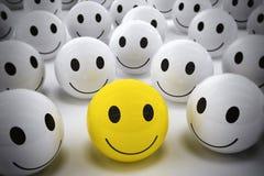 3D que rende o líder feliz apoia sua equipe Imagem de Stock Royalty Free