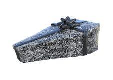 3D que rende o presente de Dia das Bruxas no branco Foto de Stock Royalty Free