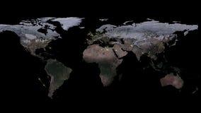 3D que rende o sumário da rede do mundo, do Internet e do conceito global da conexão Elementos desta imagem fornecidos pela NASA Fotografia de Stock