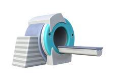 3D que rende o varredor de MRI no branco Fotos de Stock