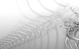 3D que rende um animal subaquático incrível Imagens de Stock Royalty Free