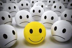 3D que rendem o líder feliz apoiam sua equipe Foto de Stock