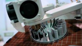 3D rękodzielnicza drukarka podczas pracy zbiory wideo