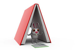 3d rabbit study pressure concept Stock Photo
