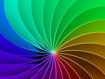 3d Rainbow Spectrum Background Royalty Free Stock Photos