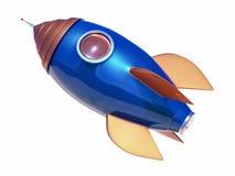 3D rakiety tło ilustracja wektor