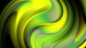 3d rappresentazione astratta, animazione di una superficie con le onde, progettazione moderna del fondo, stock footage