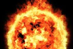 3d rappresentazione, bolide, fuoco ardente Illustrazione di Stock