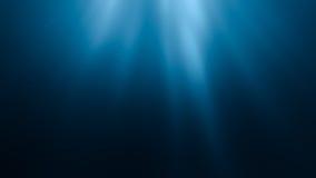 3D re5r ejemplo ndered de los rayos del sol debajo del agua libre illustration