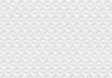 3D realistic geometric symmetry white and gray gradient color cubes pattern background and texture royalty free illustration