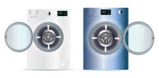3d realistic vector washers. Washing machine. Vector Illustratio vector illustration