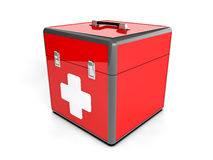 3d red box Royalty Free Stock Images