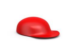 3d red cap concept Stock Photo